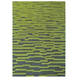 Rug Enigma lime