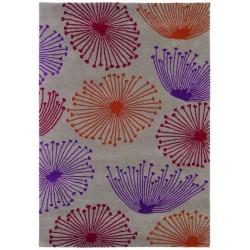 Teppiche Dandelion taupe claret
