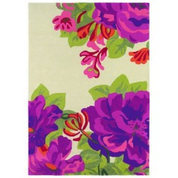 Rug Midsummer rose crimson
