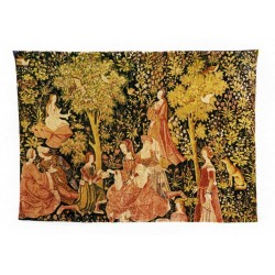 Tapestry Fete Galante cm.140x198
