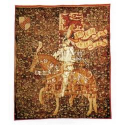 Tapestry Le Chevalier cm.106x87