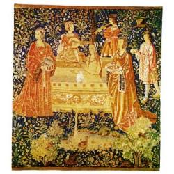 Wandteppich Le Bain cm.155x142
