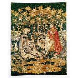 Wandteppich Offrande Du Coeur cm.148x107