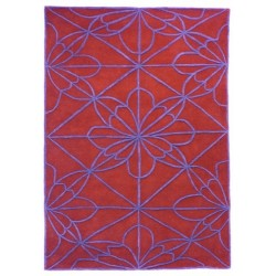 Alfombra Nanimarquina African House red