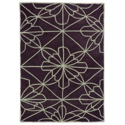 Alfombra Nanimarquina African House brown dark