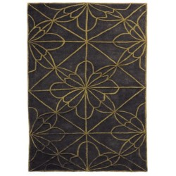 Alfombra Nanimarquina African House brown light