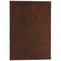 Rug Nanimarquina Antique redand black