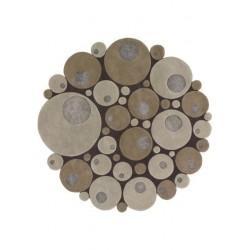 Alfombra Minerali Vitalize beige round