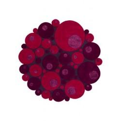 Alfombra Minerali Vitalize rosso round