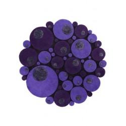 Alfombra Minerali Vitalize viola round