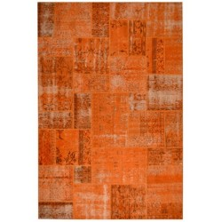 Tapis Patchwork orange cm.200x300
