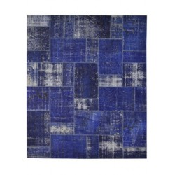 Rug Patchwork dark blue cm.250x300