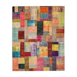 Rug Patchwork multicolour cm.245x304