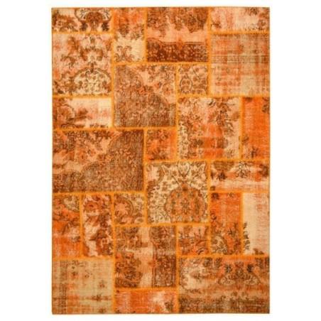 Rug Patchwork orange cm.170x240