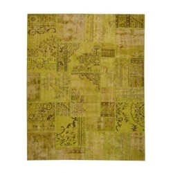 Tapis Patchwork green lemon cm.200x250