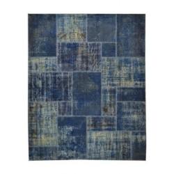 Teppiche Patchwork indigo cm.200x250