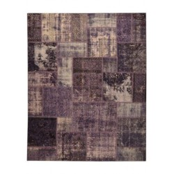 Rug Patchwork lilac cm.200x250