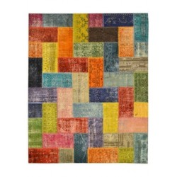 Tapis Patchwork multicolour cm.200x250