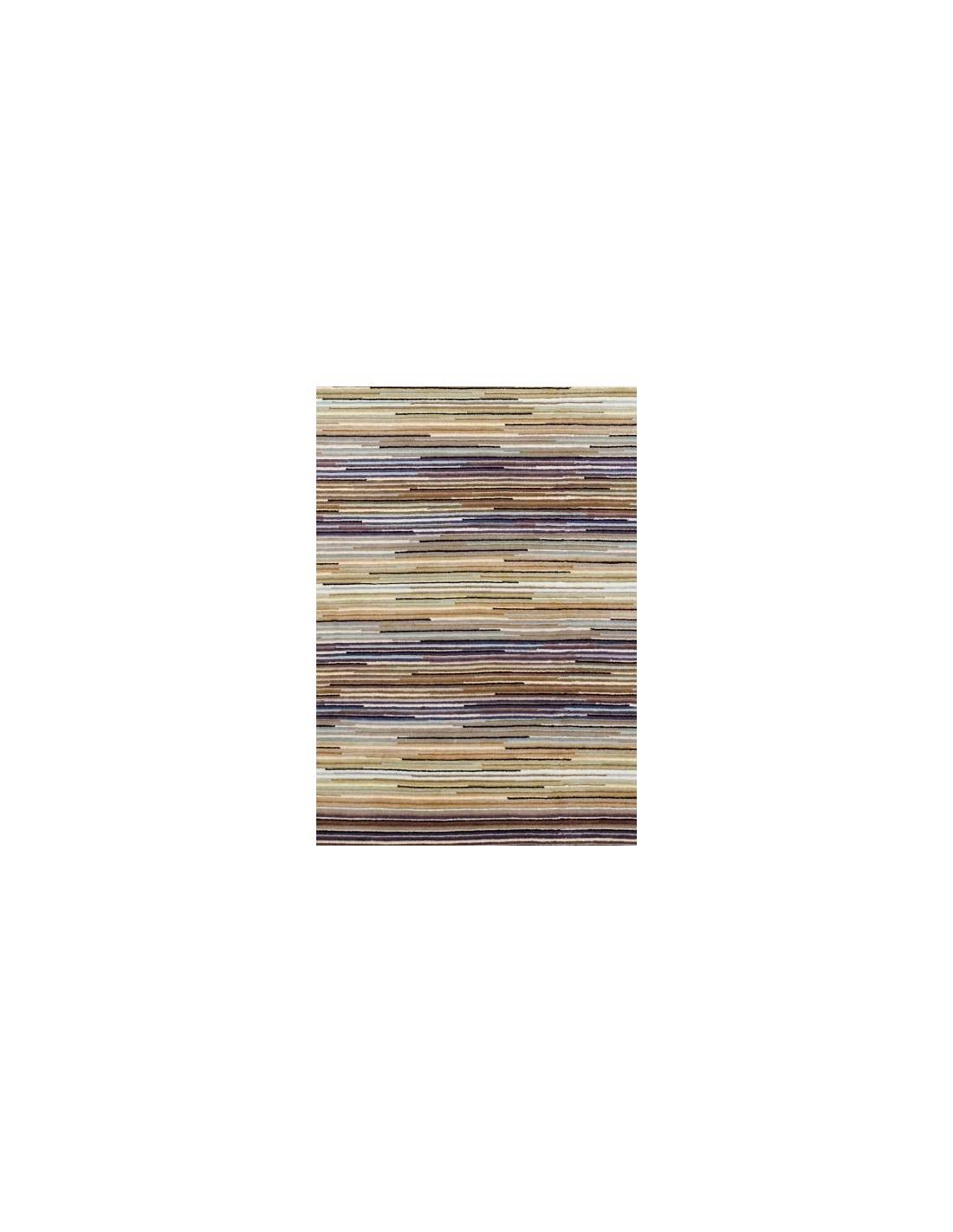 Contemporary rug Tappeto Missoni Home Porto marrone 160 cm.170x240 designed by Missoni Home
