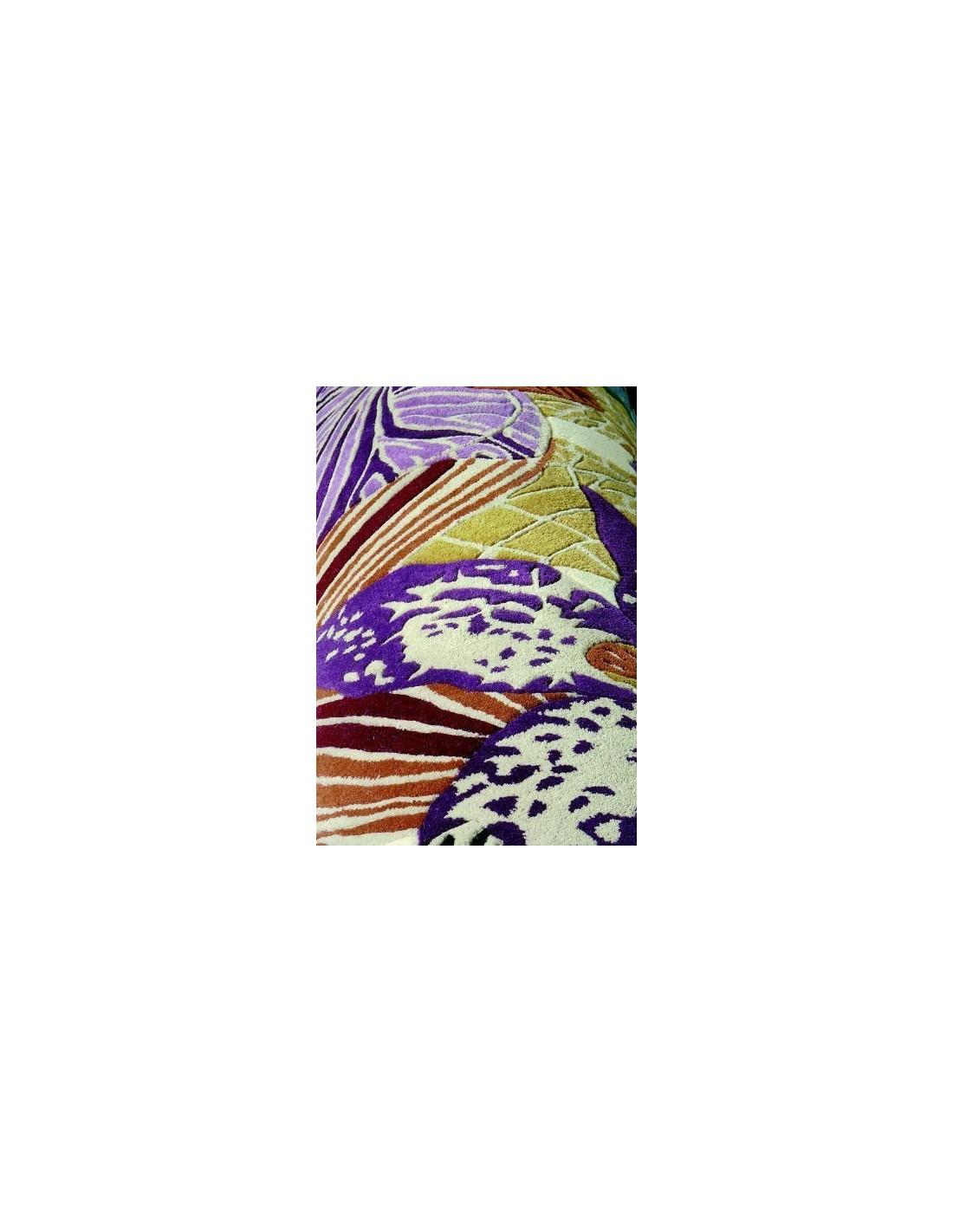 Contemporary rug Tappeto Missoni Home Mebera nero T160 designed by Missoni Home