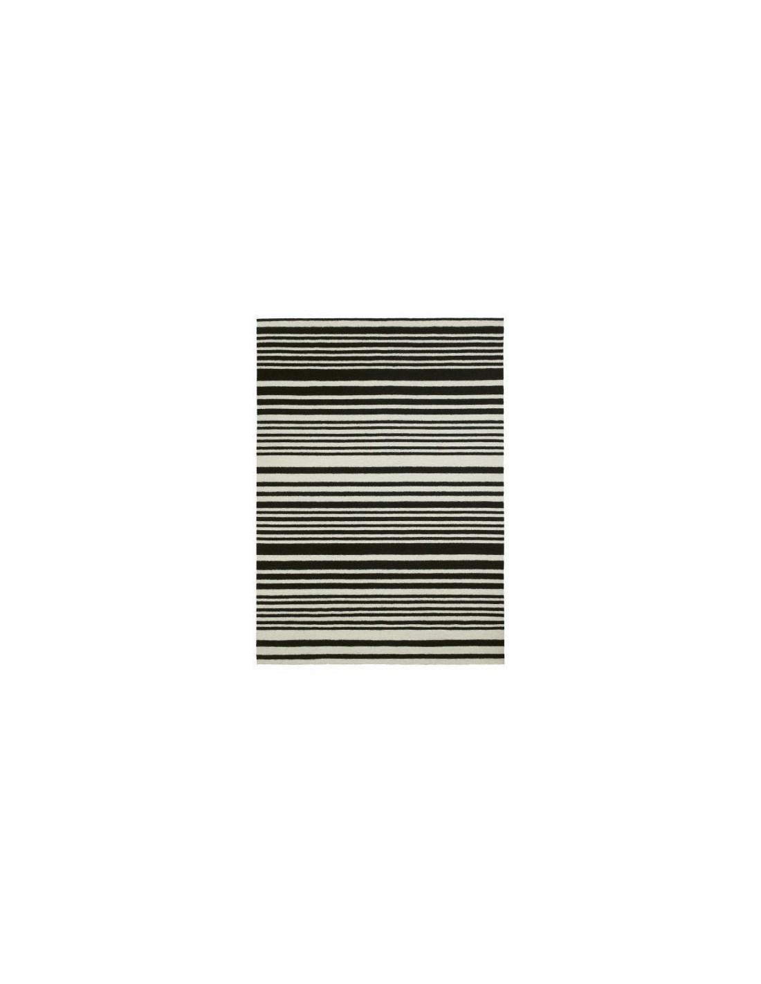 Contemporary rug tappeto missoni home whitney bianco e - Tappeto bianco e nero ...