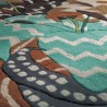 Teppiche Missoni Home  Orion oceani T125 cm.155x240 - einde van de serie