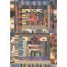 Tappeto Missoni Home  Orion oceani T125 cm.185x185 - fine serie
