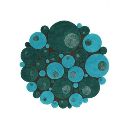 Alfombra Minerali Vitalize petrolio round