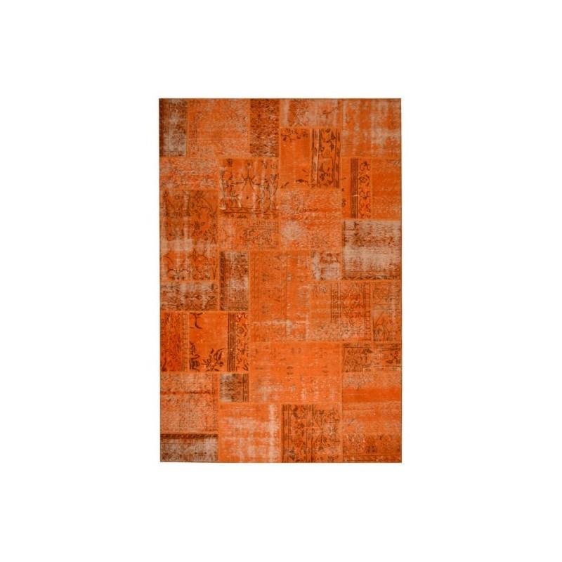 Rug Patchwork orange cm.200x300