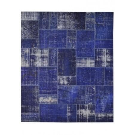 Rug Patchwork dark blue cm.250x300