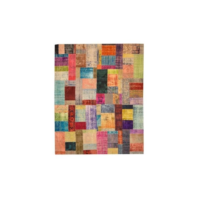 Rug Patchwork multicolour cm.245x304