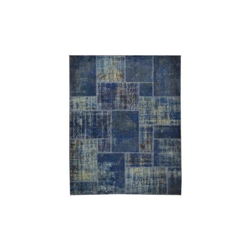 Rug Patchwork indigo cm.200x250