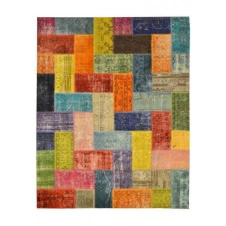 Rug Patchwork multicolour cm.200x250