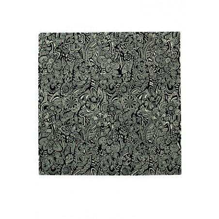 Alfombra Missoni Home  Esmeraldas bianco e nero T20