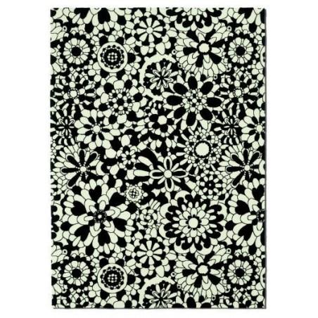 Teppiche Missoni Home  Fleury bianco e nero T20